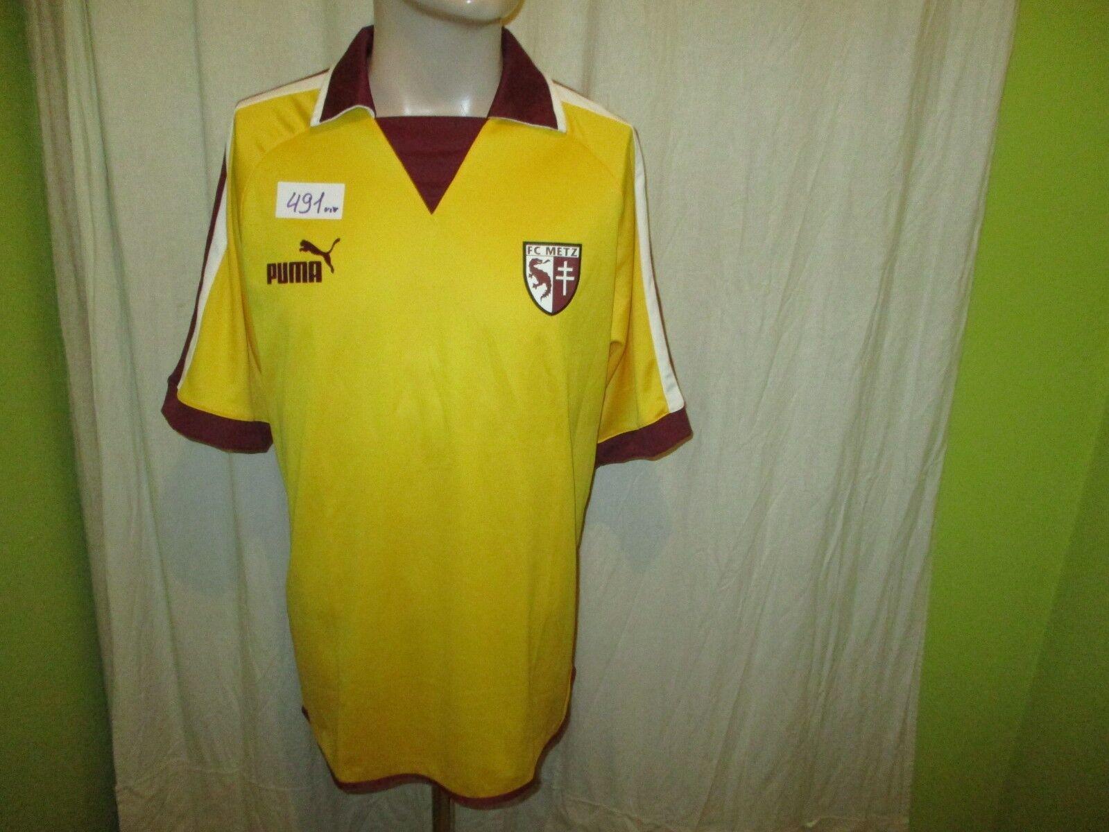 FC Metz Original Puma Auswärts Trikot 2003 04  ohne Hauptsponsor  Gr.M Neu