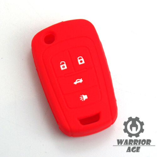 Silicone Flip Remote Key Holder Skin Cover Case FOB 4 Button For BUICK Regal New