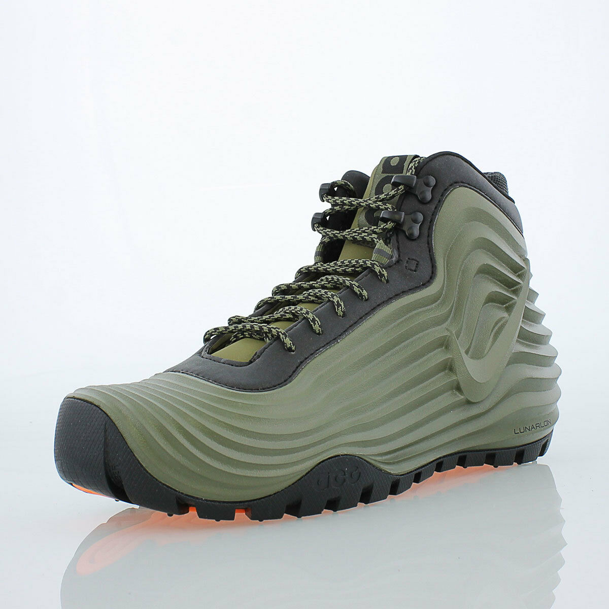 Nike Lunardome 1 Sneakerboot Shoe Mens size 7 Medium Olive/Black 654867-200
