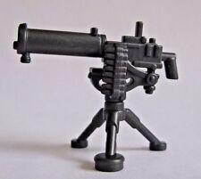 Brickwarriors Machine Gun w/ Tripod for Lego Minifigures NEW WW2 Soldier
