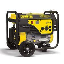 100103 - 3800/4750w Champion Power Equipment Generator