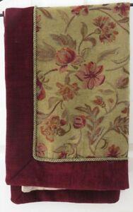 Vintage Velvet Cotton Polyester Acrylic