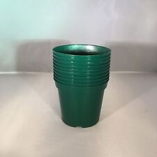 Plastic Plant Growing Pot // Green