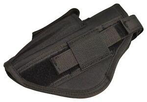 Pistol Handgun OWB Nylon Holster Magazine Pouch Adjustable Fits 9mm .40 .45 .357