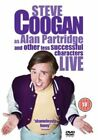 Steve Coogan Live - as Alan Partridge and Other Less Successful Characters DVD