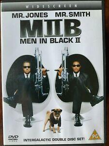 Hommes en Noir 2 DVD 2002 II Sci-Fi Comédie Film Avec Will Smith + Tommy Lee