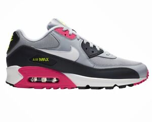 Details about Nike Air Max 90 Essential AJ1285 020 Mens Trainers Grey Gym Running Shoes