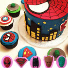 3D Spiderman Silicone Fondant Cake Decorating Chocolate Baking Mold Mould Tools