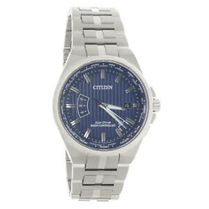 Citizen CB0160-51L Mens Perpetual A-T World Time Eco-Drive Watch