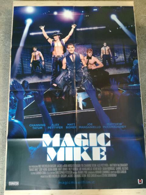 MAGIC MIKE Manifesto Film 2F Poster Originale Cinema 100x140 McCONAUGHEY TATUM