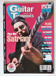 November 1996 Guitar Techniques magazine /& CD