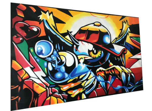 Details about  /Space Boy Street Graffiti manga street art painting super hero  by Pepe
