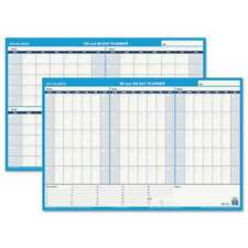 At A Glance 90120 Day Undated Horizontal Erasable Wall Planner 038576553934