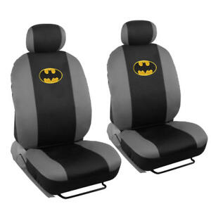 Swell Details About Licensed Warner Bros Batman 4 Piece Low Back Seat Covers Auto Interior Uwap Interior Chair Design Uwaporg