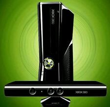 Xbox 360 slim 250gb with wired controller and Kinect