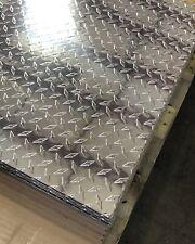 24 X 48 Aluminum Diamond Plate Sheet Polished 1pc 025