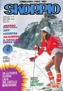 163-SKORPIO-ed-Eura-1984-con-Karin-Tusberg-n-49-stato-Ottimo