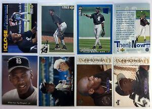 Lot-of-16-Michael-Jordan-Baseball-Cards-Upper-Deck-amp-Coll-Choice-Rookies-RC