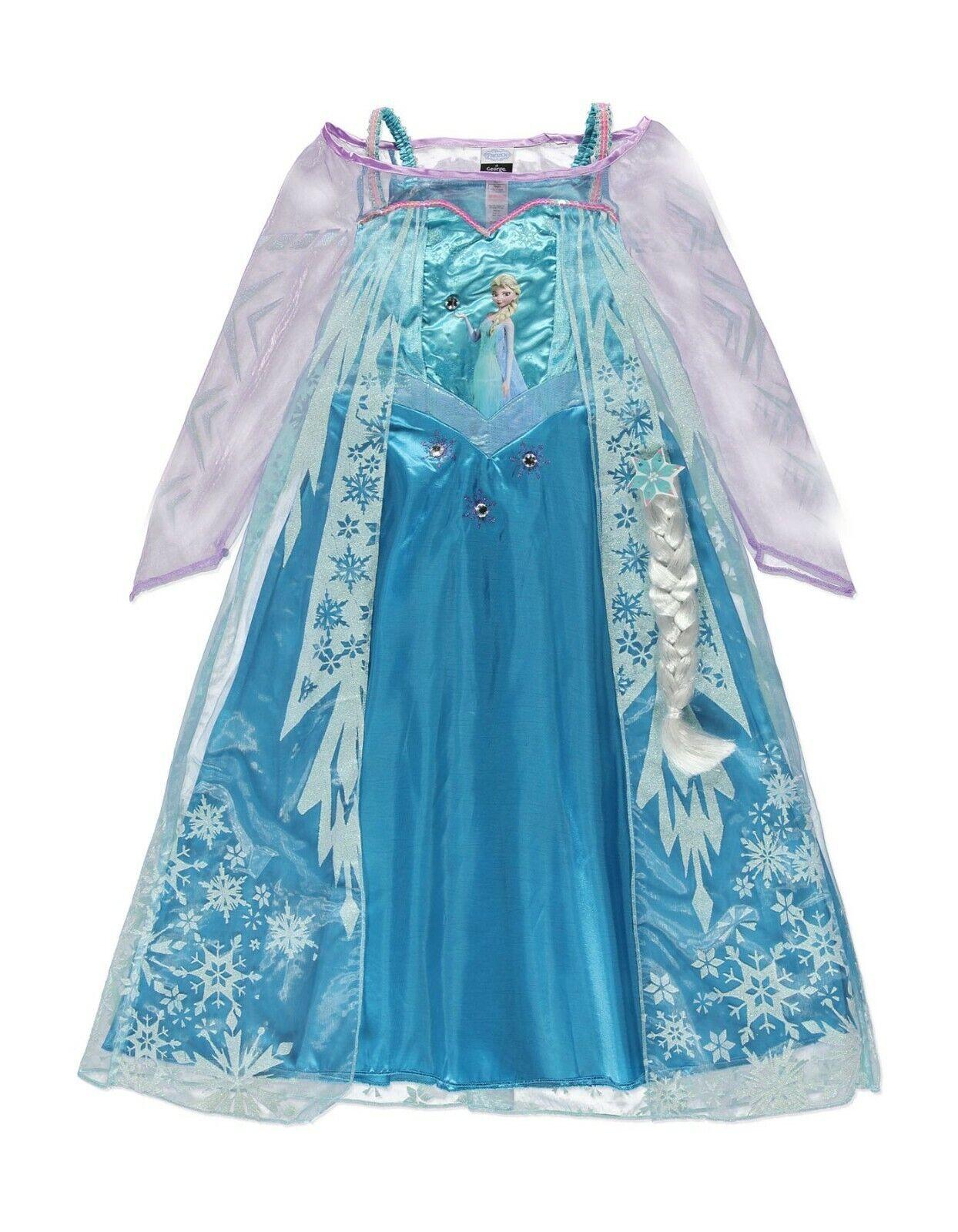 Disney George Frozen Elsa Costume Age 5-6