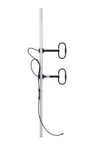Details about UHF Antenna, 2-element folded dipole array 400-470 mHz , 5 6  dBd 300W