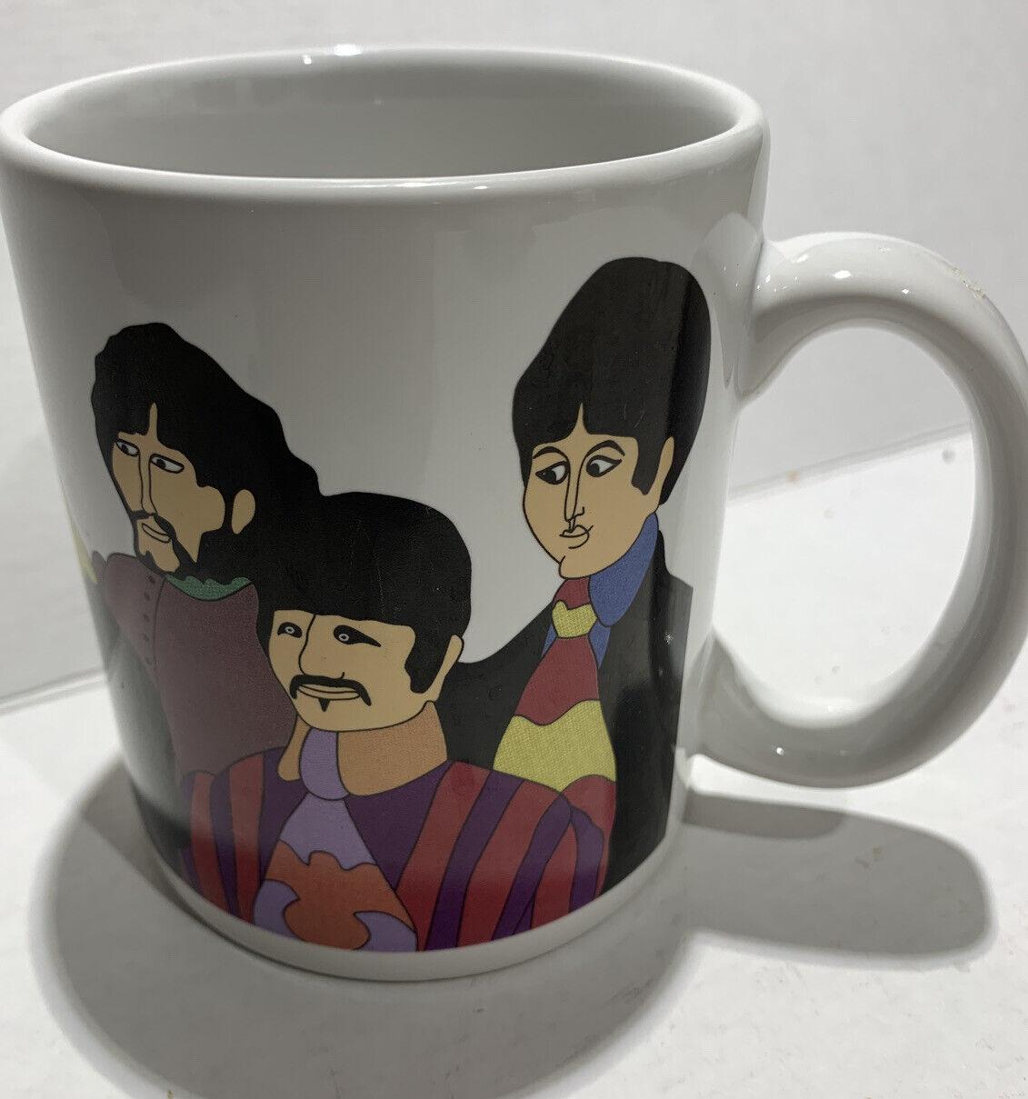 VINTAGE JEREMY JUVENILE NIB Ceramic Coffee Mug THE BEATLES- YELLOW SUBMARINE