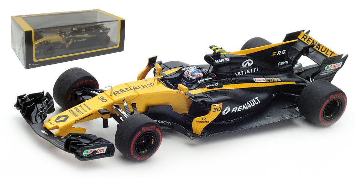 Spark S5034 Renault Sport RS17  30 Bahrein GP 2017-Jolyon Palmer 1 43 Escala