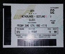 Euro 1992 original ticket Holland v Scotland @gothenburg