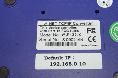 E-net TCP//IP Converter e-p132-x