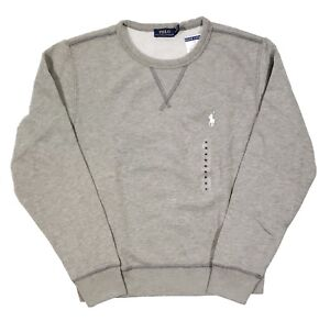 grigio Ralph Lauren a Polo Felpa flan cotone felpato da coste di scozzese uomo in qw187W6w
