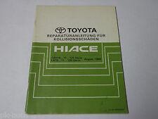 Werkstatthandbuch Toyota Hiace ,Karosserie / Kollosionsschäden, Stand 08/1989