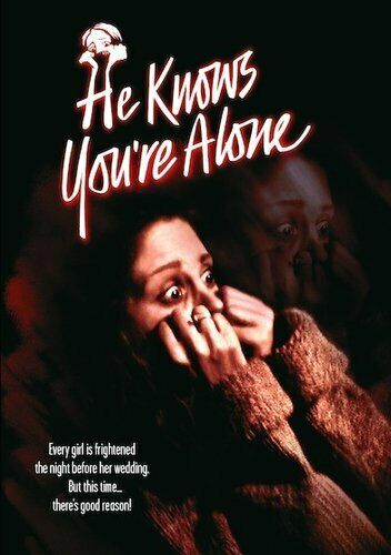 He Knows You're Alone (1980) DVD NEW