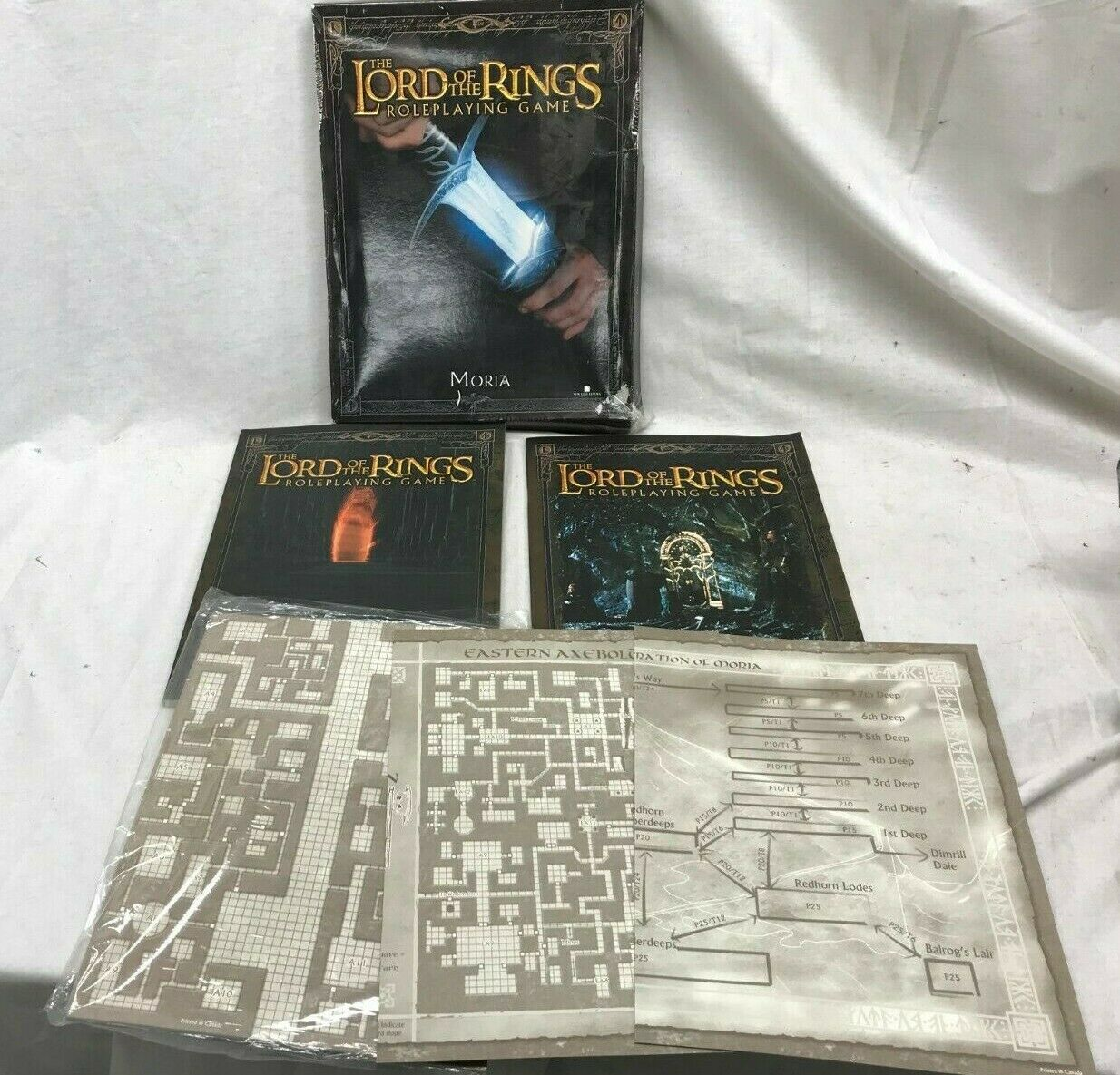 Lord of the Rings Role Playing game books Khazad-Dum dwarves of Middle Earth