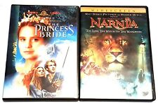 Chronicles of Narnia & Princess Bride DVDs