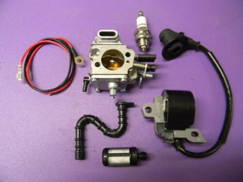 FUEL LINE TUNE UP KIT FOR 066 MS660 STIHL CHAINSAWS IGNITION COIL CARBURETOR