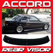 JDM 1990-1993 Honda Accord Coupe CB7 Rear Roof Window Visor Sun Deflector NEW!
