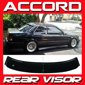 Jdm 1990 1993 Honda Accord Coupe Cb7 Rear Roof Window Visor Sun