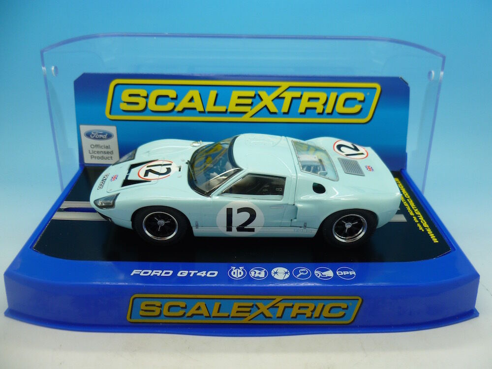 Scalextric C3533 Ford GT40 1966 Le Mans