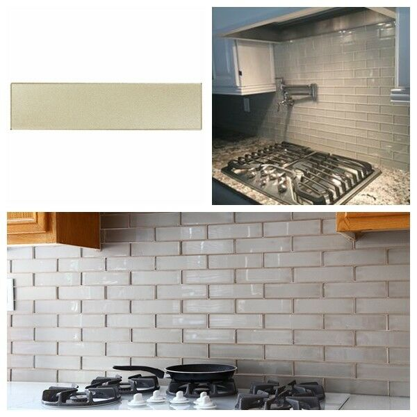 Beige Glass Beveled Subway Tile 3x6 Backsplash Bathroom Wall By Whole Tiles For Sale Online Ebay,Black And White Wallpaper Hd Pc