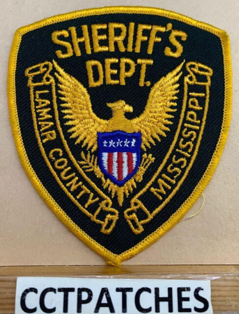 LAMAR COUNTY, MISSISSIPPI SHERIFF (POLICE) SHOULDER PATCH ...