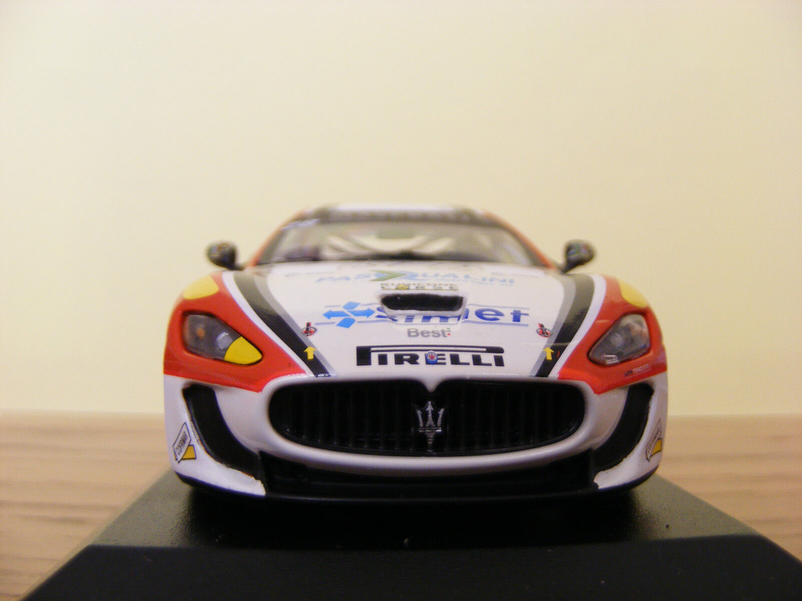 MASERATI Gran Turismo MC GT4 Test Car 1 of 1008 pcs MINICHAMPS 1 43 NLA