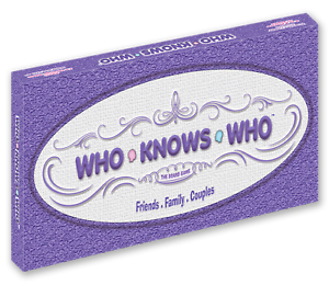 WHO KNOWS WHO The Board Game NEW Friends, Family, Couples (Signature Series)