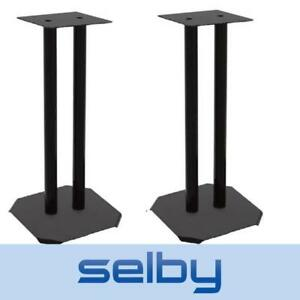 Pair of 600mm Pedestal Speaker Stands Home Theatre Bookshelf