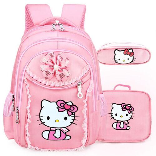 Hello Kitty Girls Kids Backpacks School Satchel Children Bags For Kindergarten