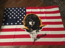 Vintage Retro The Doors Him Morrison American Flag Rock And Roll 42x28.5 Inches