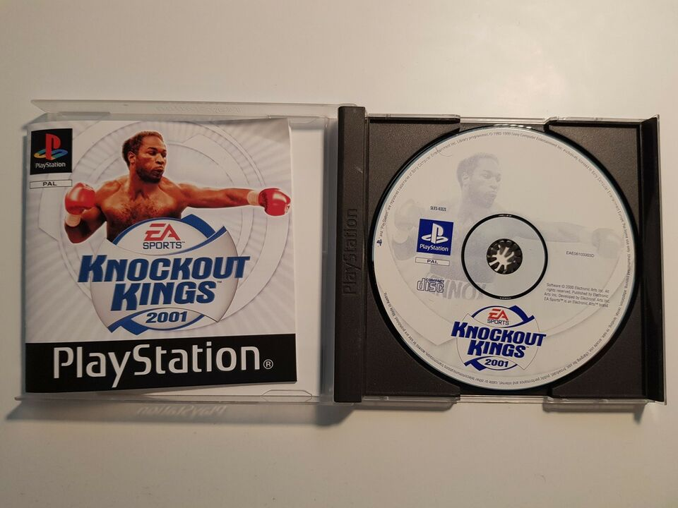 Knockout Kings 2001, PS