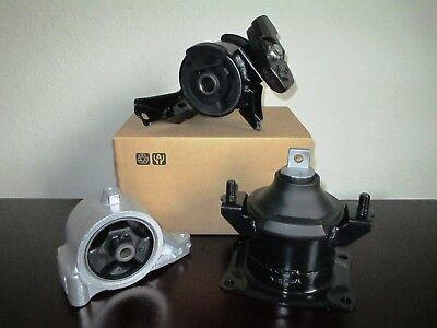 . 2006-2008 3.5L, V6, 3471cc SET OF 3 ENGINE MOUNTS FOR HONDA RIDGELINE
