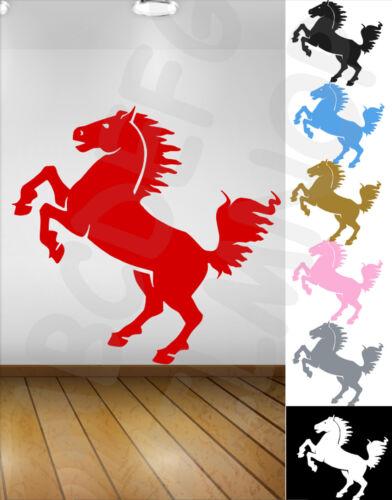 Adhesive Horse Rampant 7 Colors Tuning Horse Stickers Vinyl Waterproof