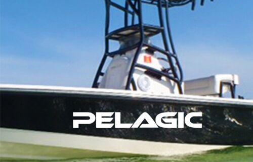 Pelagic decals 36/'/'x5/'/' boat fishing decal sticker graphic logo emblem 2