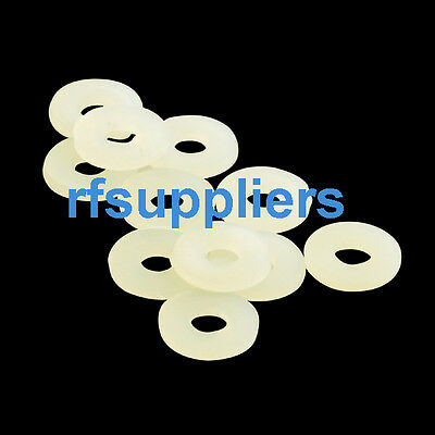 Lots of 200pcs Plastic Nylon spacer Flat washers metric 3*6*0.8mm High quality