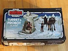 Vintage Star Wars Empire Strikes Back ESB Probot & Turret set with box